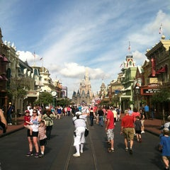 Photo taken at Main Street, U.S.A. by Patrick B. on 1/13/2013