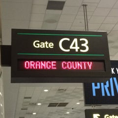 Photo taken at Gate C43 by Patrick B. on 1/26/2015