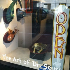 Photo taken at The Art of Dr. Seuss by Patrick B. on 2/17/2013