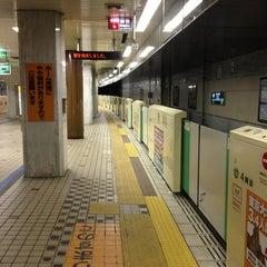 Photo taken at 地下鉄 さっぽろ駅 (N06/H07) by orange m. on 3/20/2013
