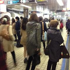 Photo taken at 地下鉄 さっぽろ駅 (N06/H07) by orange m. on 4/18/2013
