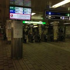 Photo taken at 地下鉄 さっぽろ駅 (N06/H07) by orange m. on 4/30/2013