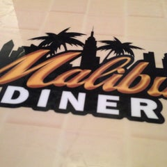 Photo taken at Malibu Diner by Brian on 2/23/2013