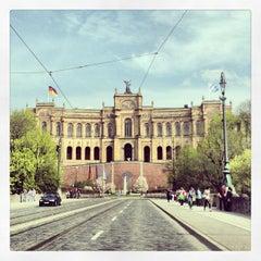 Photo taken at Bayerischer Landtag by Natthanit R. on 4/27/2013