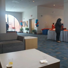 Photo taken at Schine Student Center by Nicol S. on 1/12/2013