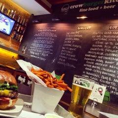 Photo taken at Crow Burger Kitchen by Blair T. on 1/5/2015