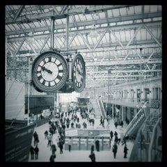 Photo taken at London Waterloo Railway Station (QQW) by Michael H. on 3/21/2013