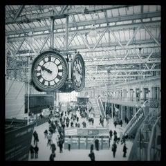 Photo taken at London Waterloo Railway Station (WAT) by Michael H. on 3/21/2013