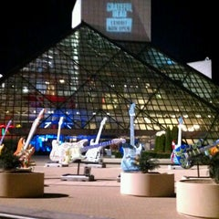Photo taken at The Rock and Roll Hall of Fame and Museum by Derek S. on 9/15/2012