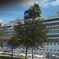Photo taken at Port of Tampa by Brett on 1/13/2013