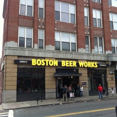 Photo taken at Boston Beer Works by Andy P. on 5/24/2013