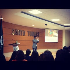 Photo taken at Universidad Santo Tomás by Paulette R. on 10/29/2012