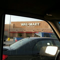 Photo taken at Walmart Supercenter by Laurie M. on 10/2/2012