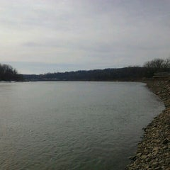 Photo taken at N P Dodge Park Marina by Lindsay L. on 2/17/2013