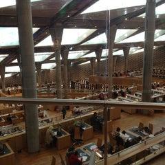 Photo taken at Bibliotheca Alexandrina | مكتبة الإسكندرية by Ahmed A. on 11/25/2012
