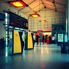 Photo taken at Gare SNCF de Vichy by Simon C. on 5/14/2014