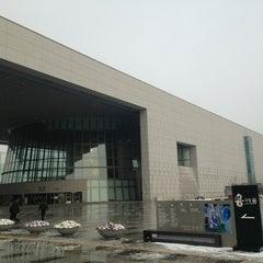 Photo taken at 국립중앙박물관 (National Museum of Korea) by Siwon K. on 12/21/2012