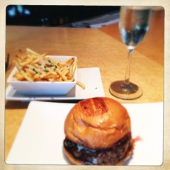 Photo taken at Umami Burger by A on 10/20/2012