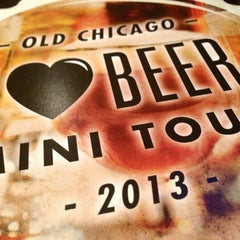 Photo taken at Old Chicago by Rebecca F. on 1/20/2013