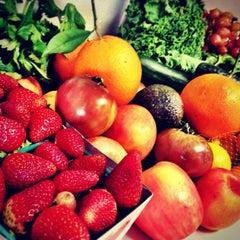 Photo taken at Century City Farmer's Market by Kristofer V. on 12/14/2012