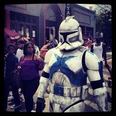 Photo taken at East Atlanta Village by Kenneth U. on 9/15/2012