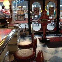 Photo taken at Ed's Easy Diner by John C. on 11/6/2012