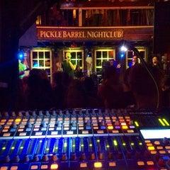 Photo taken at Pickle Barrel Nightclub by John H. on 1/16/2014