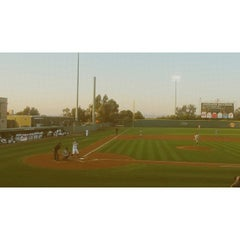 Photo taken at Anteater Ballpark - Cicerone Field by César H. on 4/18/2015