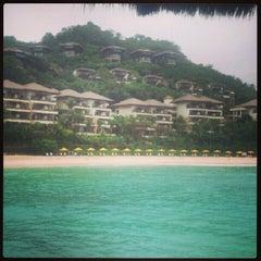 Photo taken at Shangri-La Boracay Resort and Spa by Yanyan C. on 2/21/2013