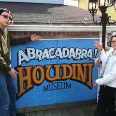 Photo taken at Houdini Museum, Tour & Magic by Gia N. on 3/24/2013