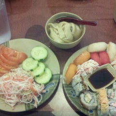 Photo taken at Kumo Japanese Seafood Buffet by Eryk S. on 1/12/2013