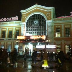 Photo taken at Савеловский вокзал / Savyolovsky Rail Terminal by Irina on 11/9/2012