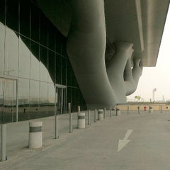 Photo taken at Qatar National Convention Centre by Jeff P. on 6/11/2013