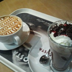 Photo taken at Costa Coffee by Győző T. on 12/26/2012