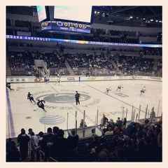 Photo taken at Pegula Ice Arena by Greg C. on 10/11/2013