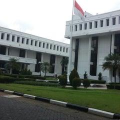 Photo taken at Kementerian Sekretariat Negara RI by Novita T. on 12/23/2014