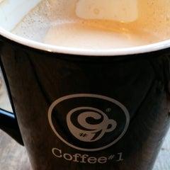 Photo taken at Coffee#1 by Júlia S. on 1/5/2014