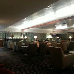 Photo taken at Qantas Club Lounge by Hamish G. on 3/17/2013