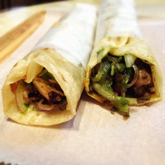 Photo taken at The Kati Roll Company by Jason A. on 3/2/2013