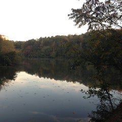 Photo taken at Lullwater Preserve by Steven S. on 10/23/2012