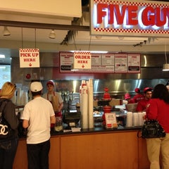 Photo taken at Five Guys by Akram A. on 11/13/2012