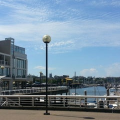 Photo taken at Aquabus Hornby St. Dock by William L. on 7/7/2013