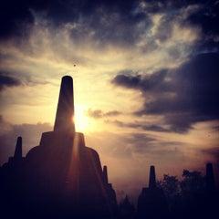 Photo taken at Candi Borobudur (Borobudur Temple) by Kirsten A. on 10/10/2012