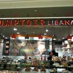 Photo taken at Comptoir Libanais by Anargyros A. on 11/29/2012