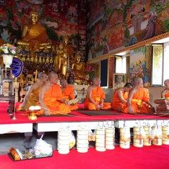 Photo taken at วัดนครป่าหมาก (Wat Nakorn Pa Mak) by Kalayanee D. on 4/27/2014