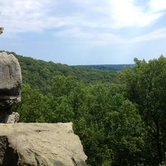 Photo taken at Rocks State Park by Rebecca R. on 8/11/2013