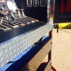 Photo taken at Princeton Fire Department Emergency Personnel On Duty Parking Only by 🚒🚨Scott on 9/26/2014