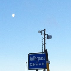 Photo taken at Julierpass by Johann Christian S. on 2/1/2013