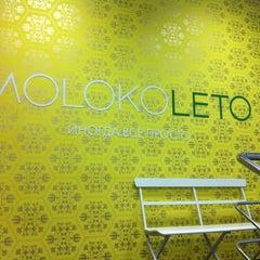 Photo taken at Moloko Leto by Maxim K. on 11/27/2012