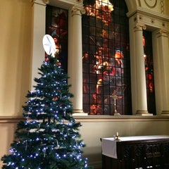 Photo taken at St Paul's Church by Brian S. on 12/20/2014